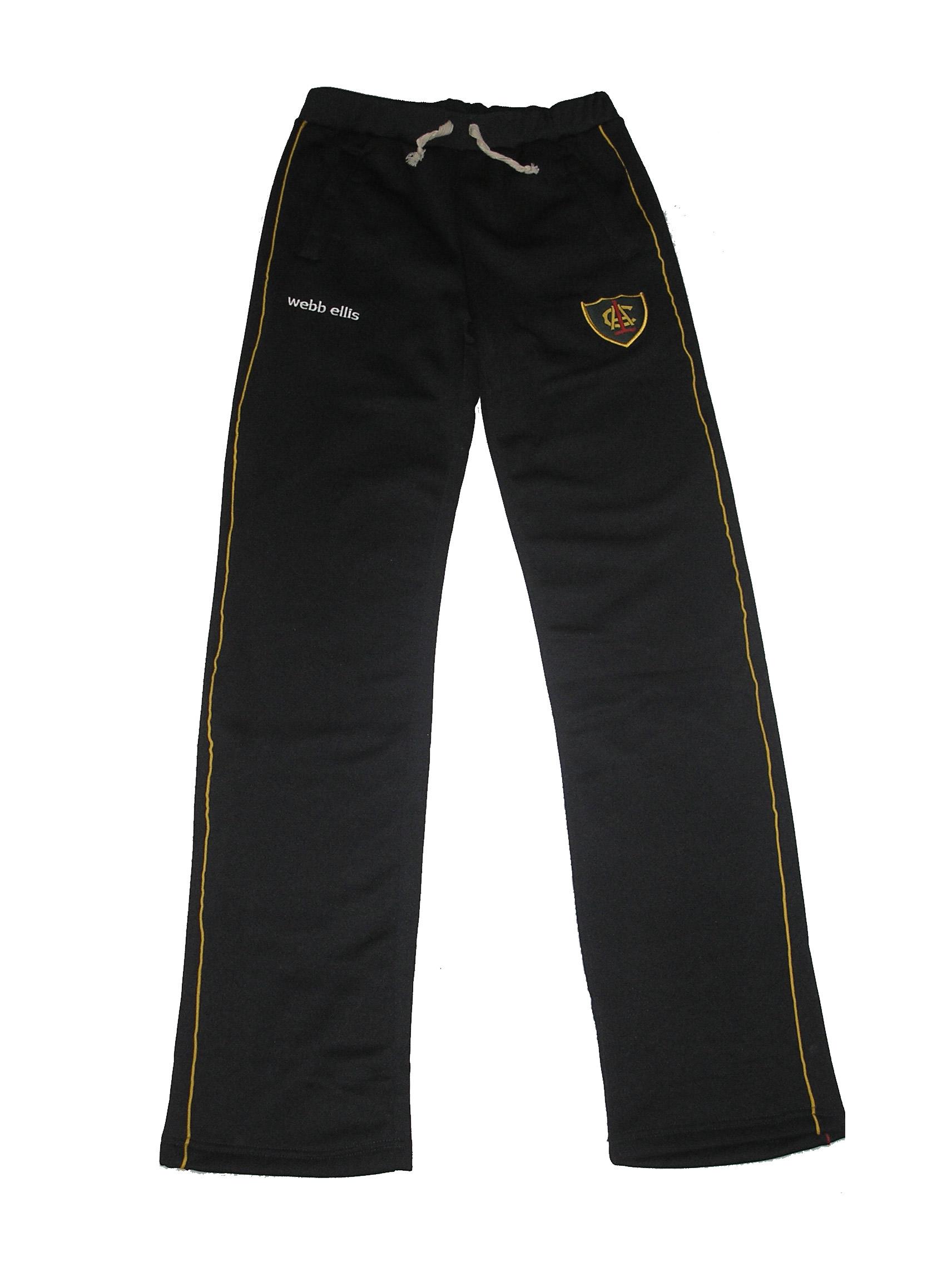 pantalon friza deportiva con vivo